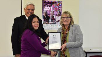 Nuria Carolina CASTILLO CRS Scholarship recipient