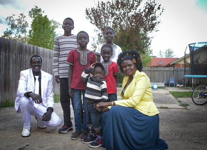 Deng family at home