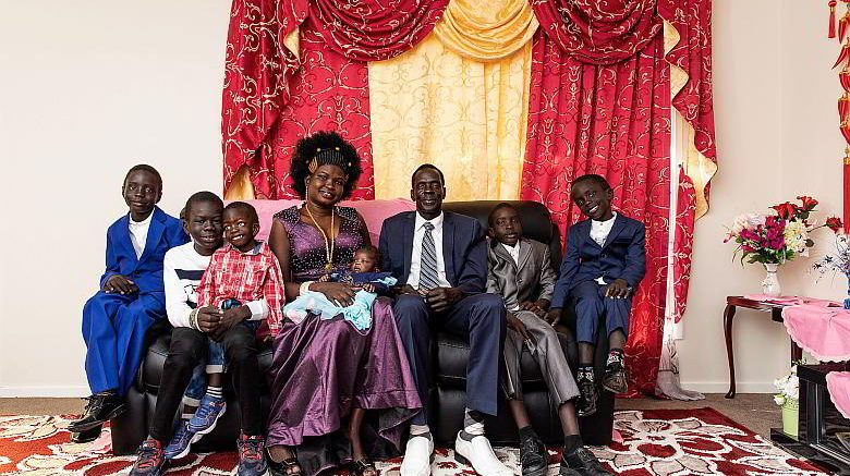 The Deng Family portrait